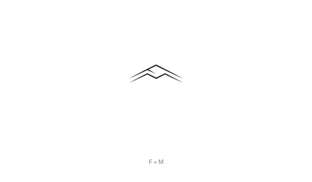 Fm Monogram Logo Design Monogram Logo Design Logo Design Monogram Logo