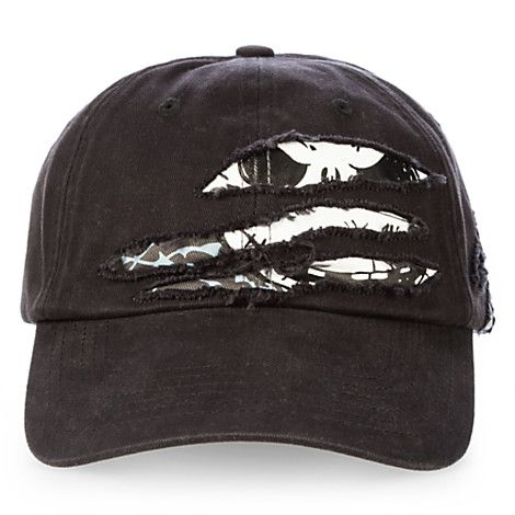 Nightcap Tear-up the town in Jack s vintage-style baseball cap with  slashed… ae221e7e2eb