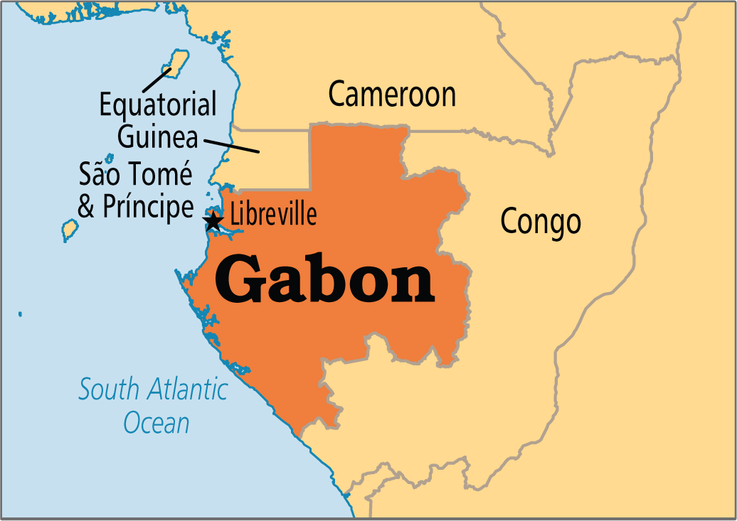 Gabon Libreville 19 Africa States And Capitals Africa Map Map