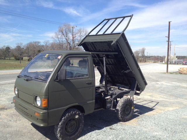 Modified mini dump truck from Japan Mini trucks