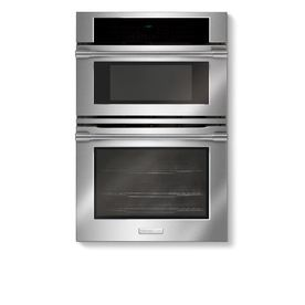 Electrolux ICON 30-in Self-Cleaning Microwave Wall Oven Combo (Stainless)