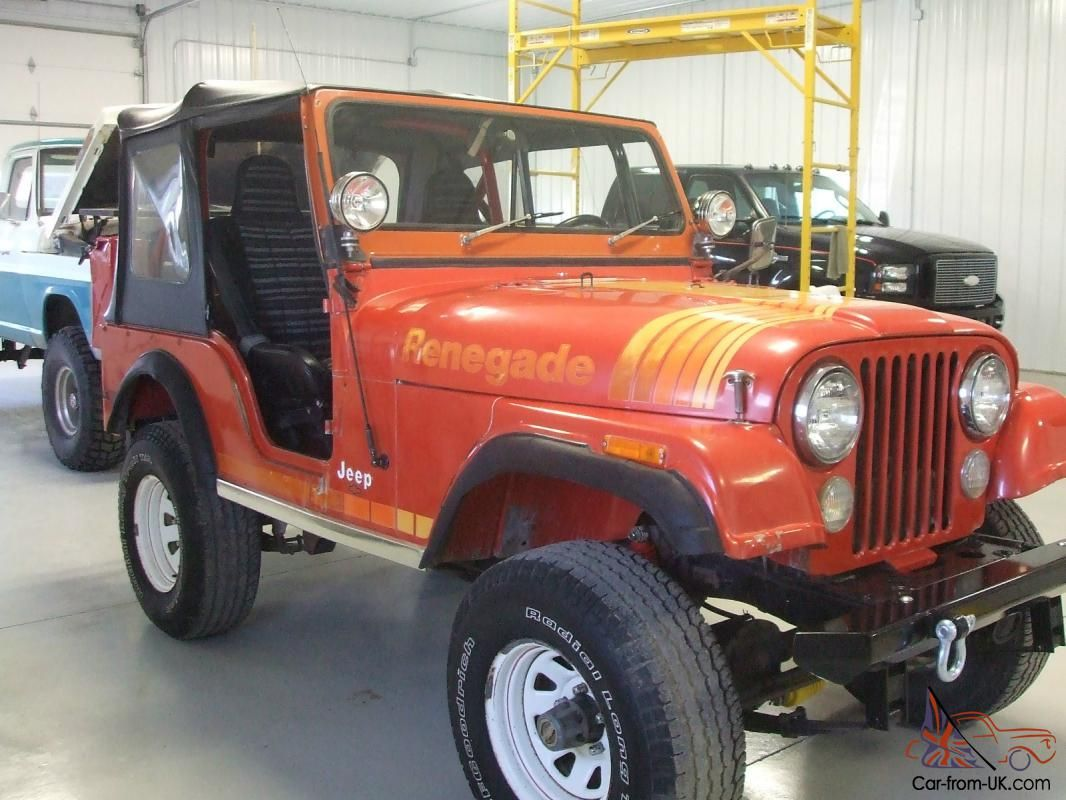 1979 Jeep Cj 5 Renegade Original Paint And Body With Sbc V8 Jeep