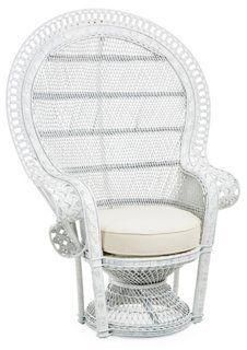 Peacock Chair White Peacock Chair Wicker Peacock Chair