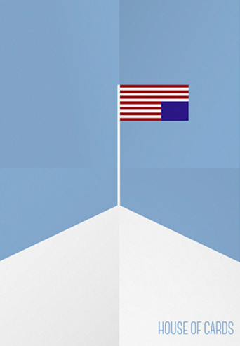 House Of Cards 2013 Minimal Tv Series Poster By Dani Rivera