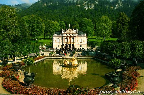 Schloss Linderhof Germany Pretty Places Beautiful Castles Favorite Places