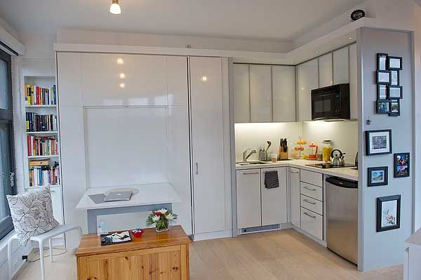 Micro lofts are luxury shantytowns for hipsters Micro kitchen