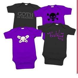 Noir I LOVE punk Baby-t-shirt
