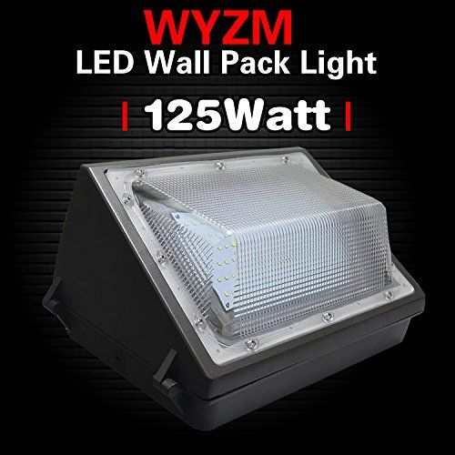 Wyzm 125watt Led Wall Pack Light 550 600w Hps Mh Bulb Rep Https Www Amazon Com Dp B01n312gbn Ref Cm Sw R P Led Outdoor Lighting Wall Packs Security Lights