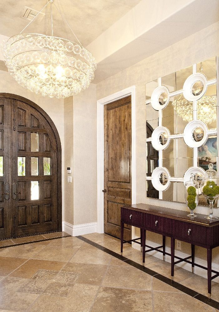 tile entryways with borders design ideas pictures remodel and decor page 5 - Foyer Designs Ideas