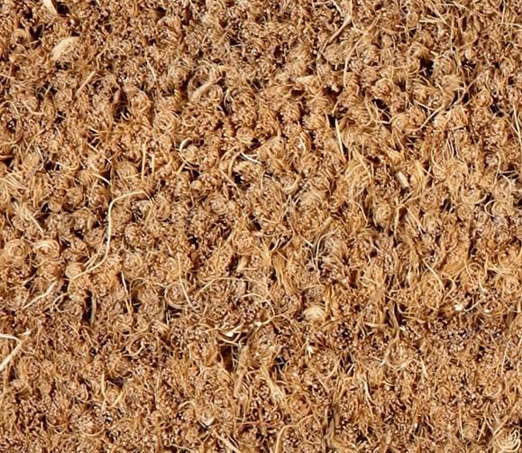 Natural Coconut Coir Entrance Matting (2m width) Coir