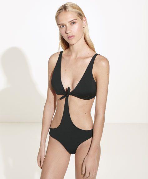 emballage élégant et robuste prix pas cher site web pour réduction Maillot de bain trikini noir, 27.99€ - Maillot de bain ...