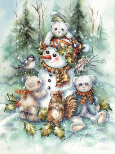 Bergsma Gallery Press :: Products :: Holiday - Occasions :: Christmas :: Christmas Prints :: I Can't Bear...- Prints