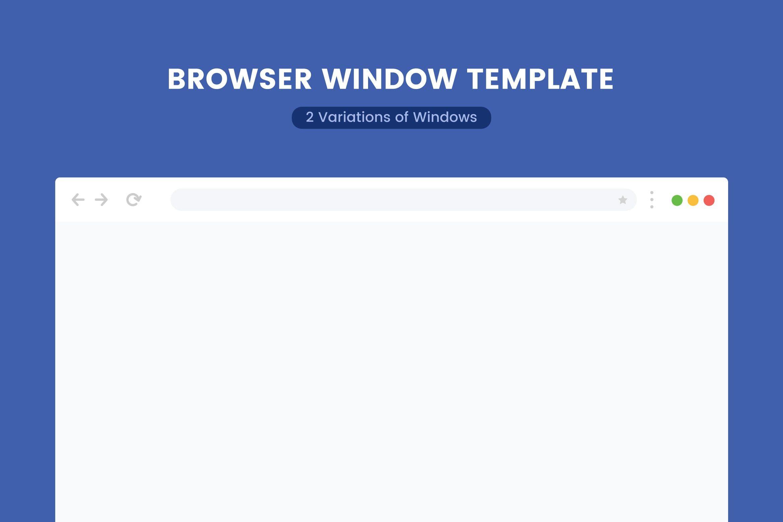 Browser Window Template #window, #browser, #template, #safari