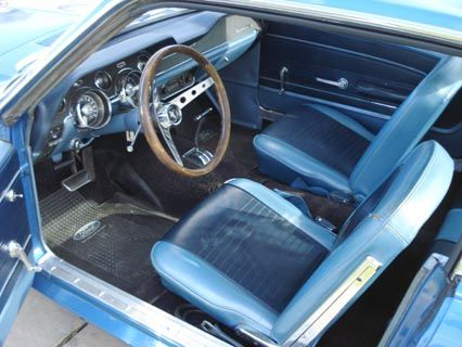 67 mustang acapulco blue interior | 1967 Ford Mustang Coupe - $9,500