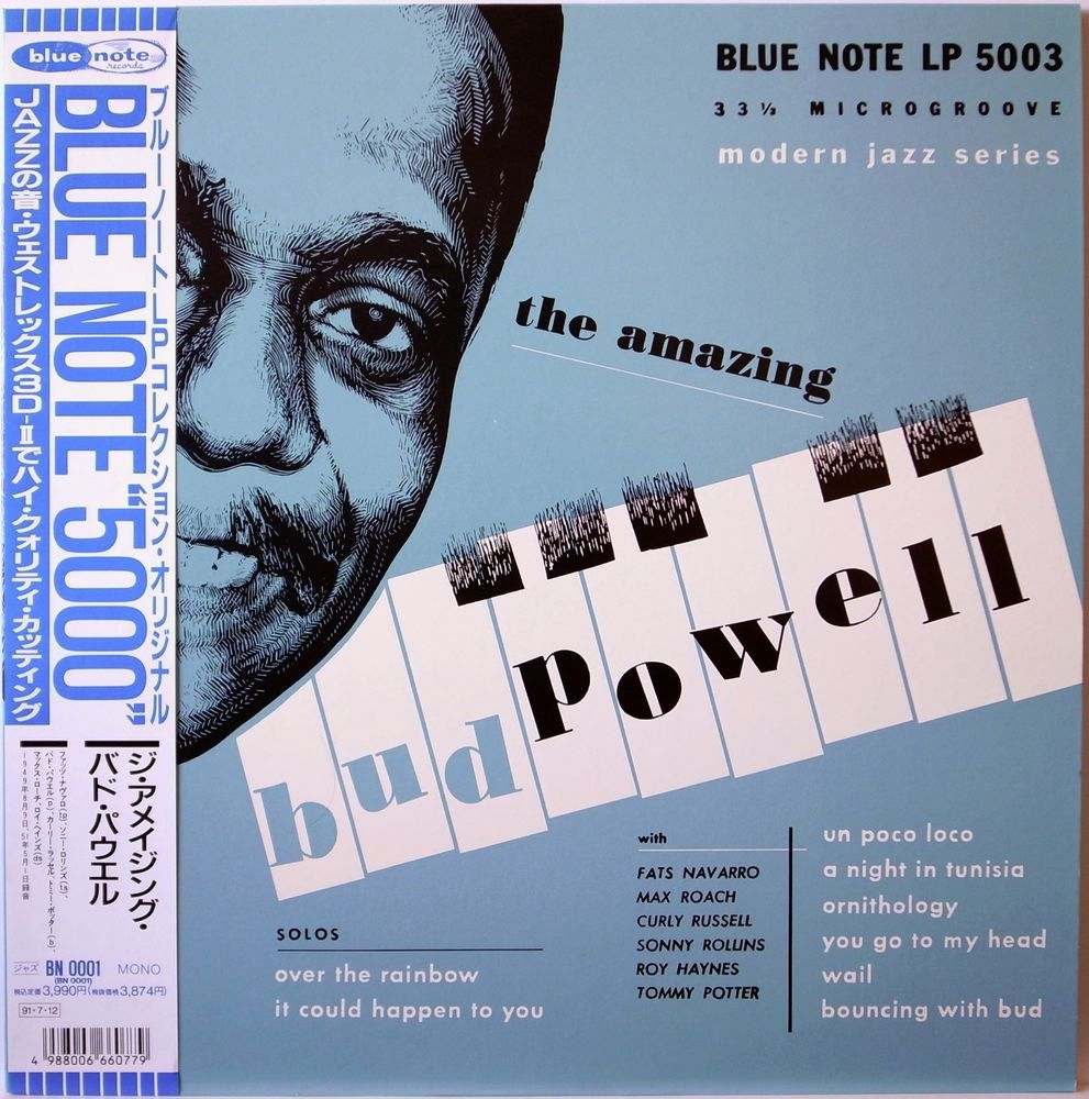 BUD POWELL / THE AMAZING VOLUME 1 / BLUE NOTE LP / JAZZ / TOSHIBA JAPAN OBI
