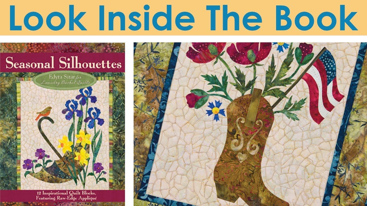 Look Inside The Book: Seasonal Silhouettes by Edyta Sitar for Laundry Basket Quilts
