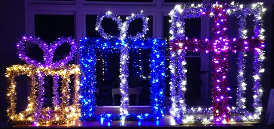 DIY Christmas Lights Presents - DIY Christmas Ideas Can Be A Real Gift! Literally A Homemade