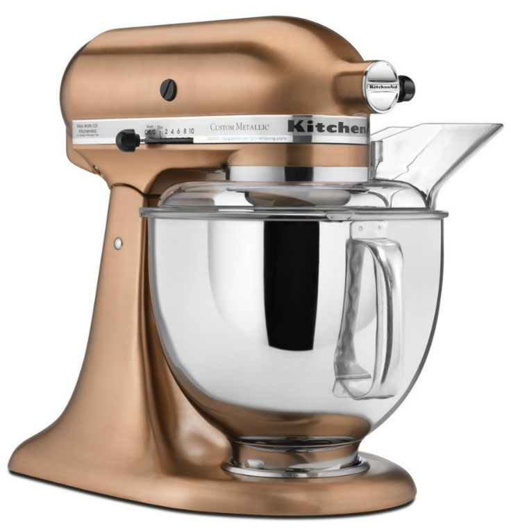 A rose gold kitchenaid yes please aff kitchen