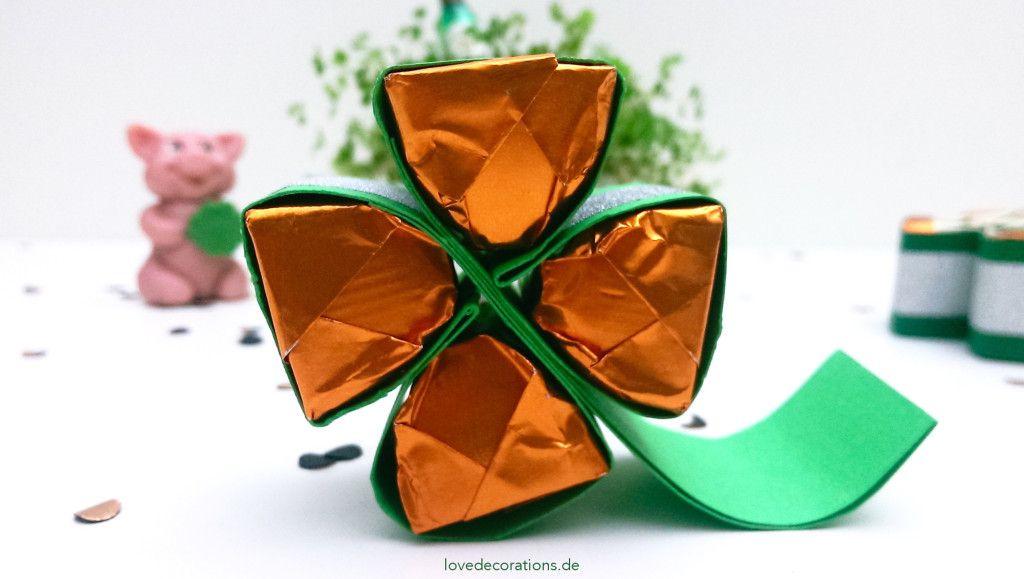 Kleines Silvester Mitbringsel Ferrero Küsschen Kleeblatt