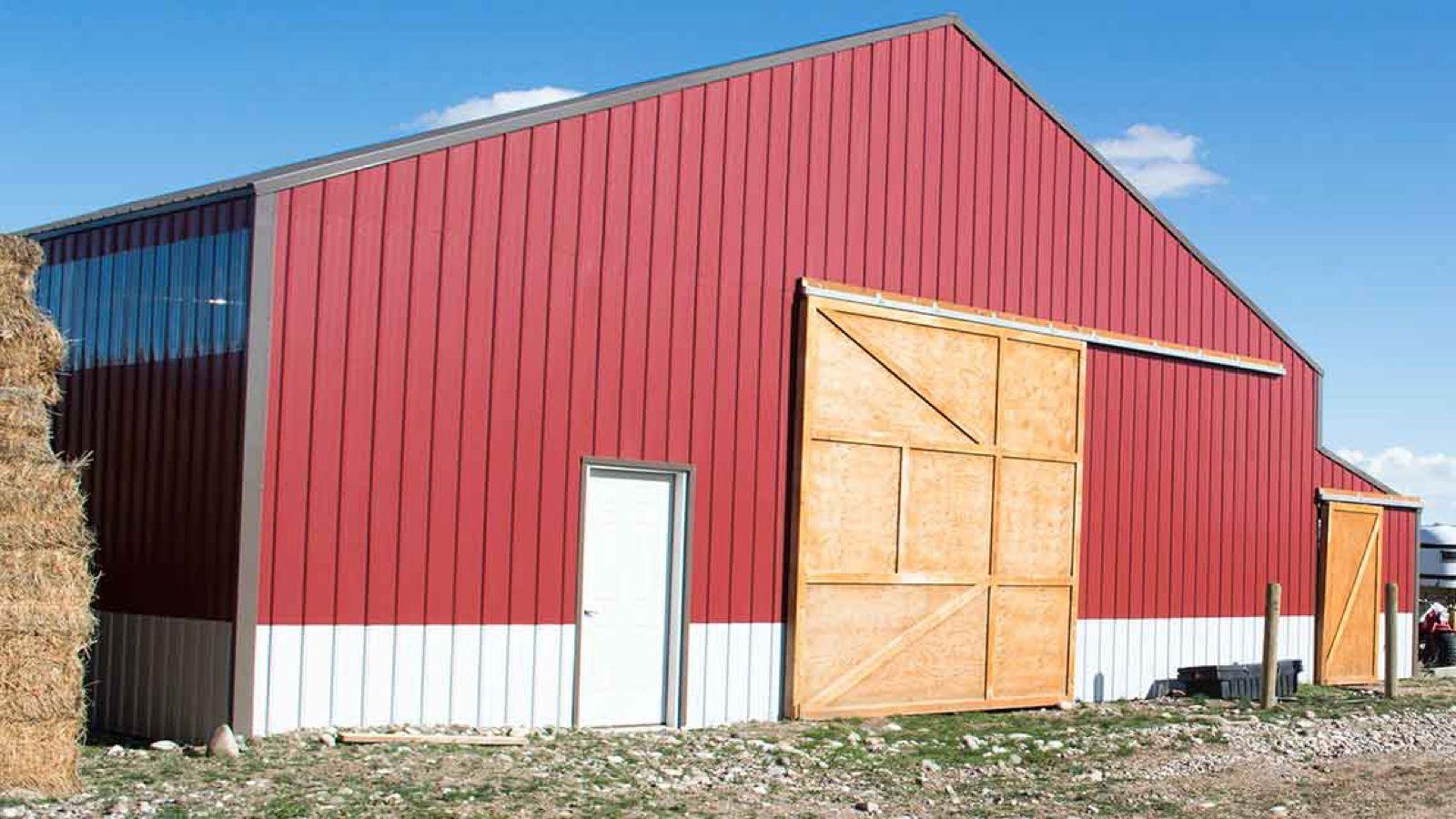 Brick Red Galvalume Desert Brown Trim Polycarbonate Clear Protectorx Series Tuff Rib Metal Roofing Siding P Sheet Metal Roofing Metal Roof Roofing