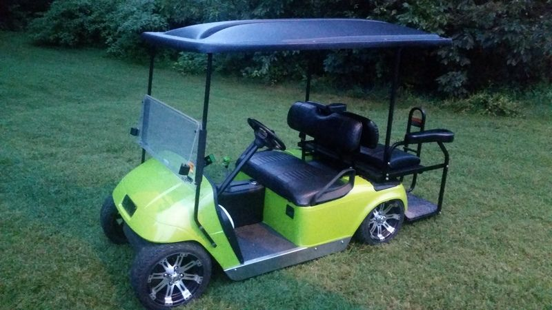 Lowered Ezgo On Air Ride Air Ride Golf Carts Golf Cart Parts