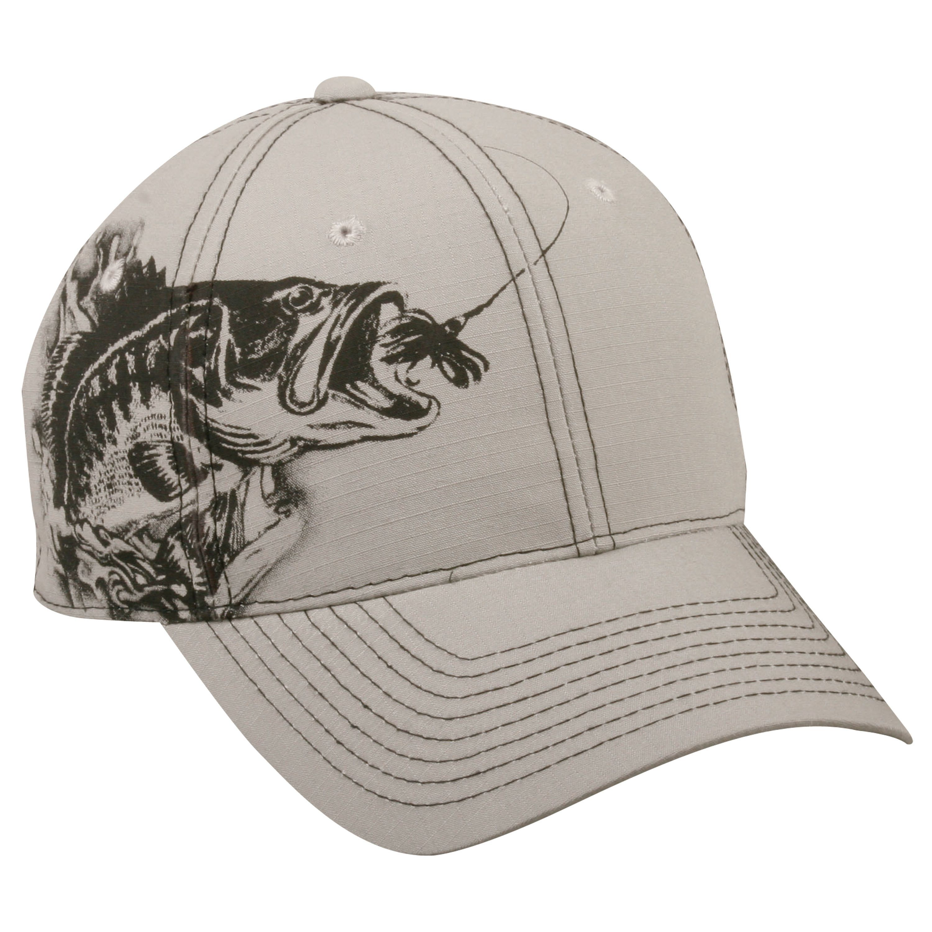 555c4a6cd9f6c Outdoor Cap Jumping Bass Adjustable Fishing Hat