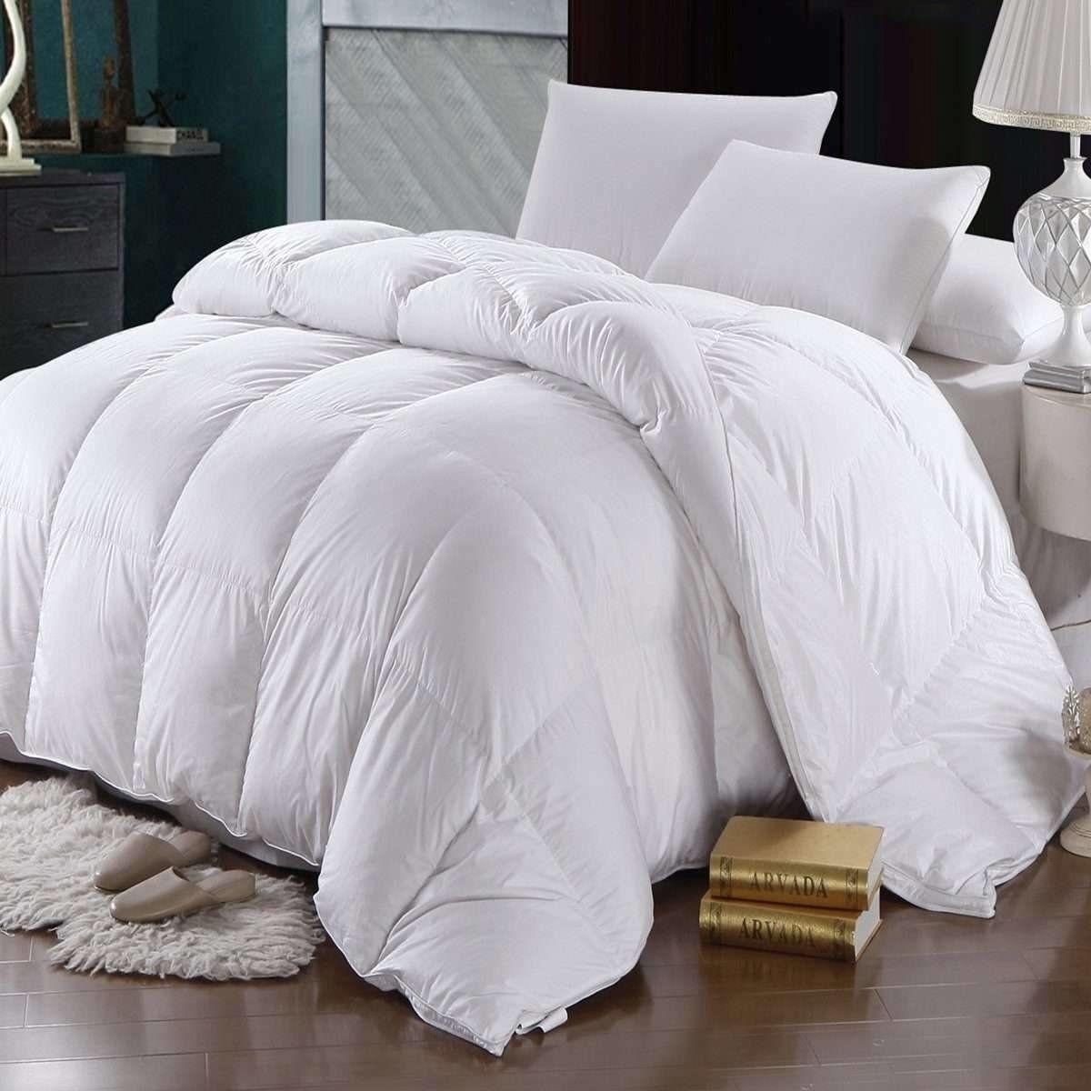 Oversized Winter Weight Goose Down Duvet Down comforter
