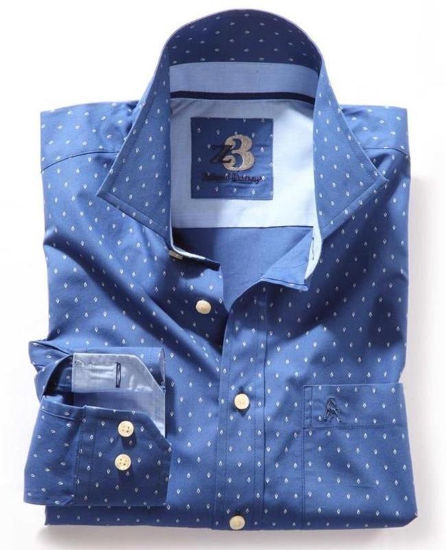 cbe4de1627b3 Zodiac | Z3 | Shirts #Blue #blueshirts #shirts #PrintedShirts #Prints #Z3 # Zodiac #casual #casualshirts