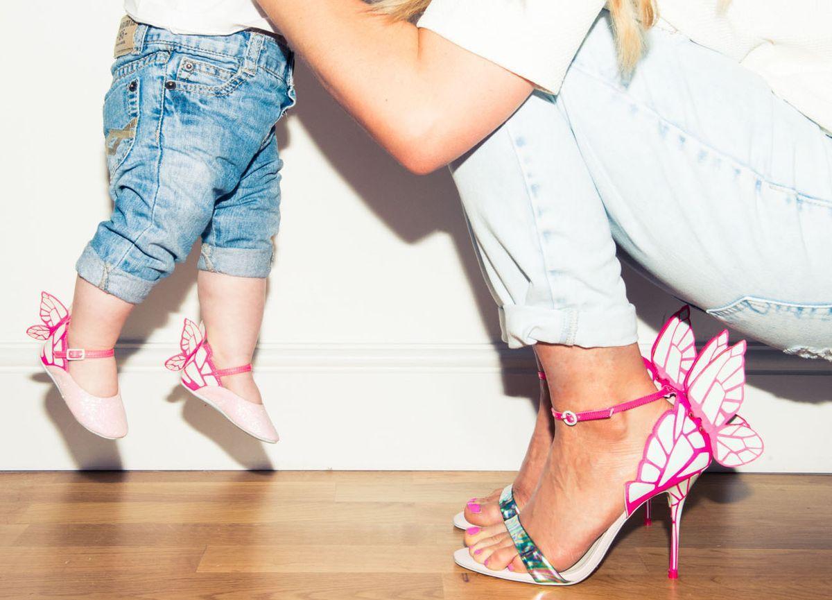 2f2a24f61fc Sophia Webster  amp  Bibi Blossom Stockley-Webster mother-daughter shoes.