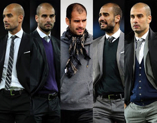 The Best And Worst Dressed Soccer Managers Bald Men Style Well Dressed Men Pep Guardiola Style