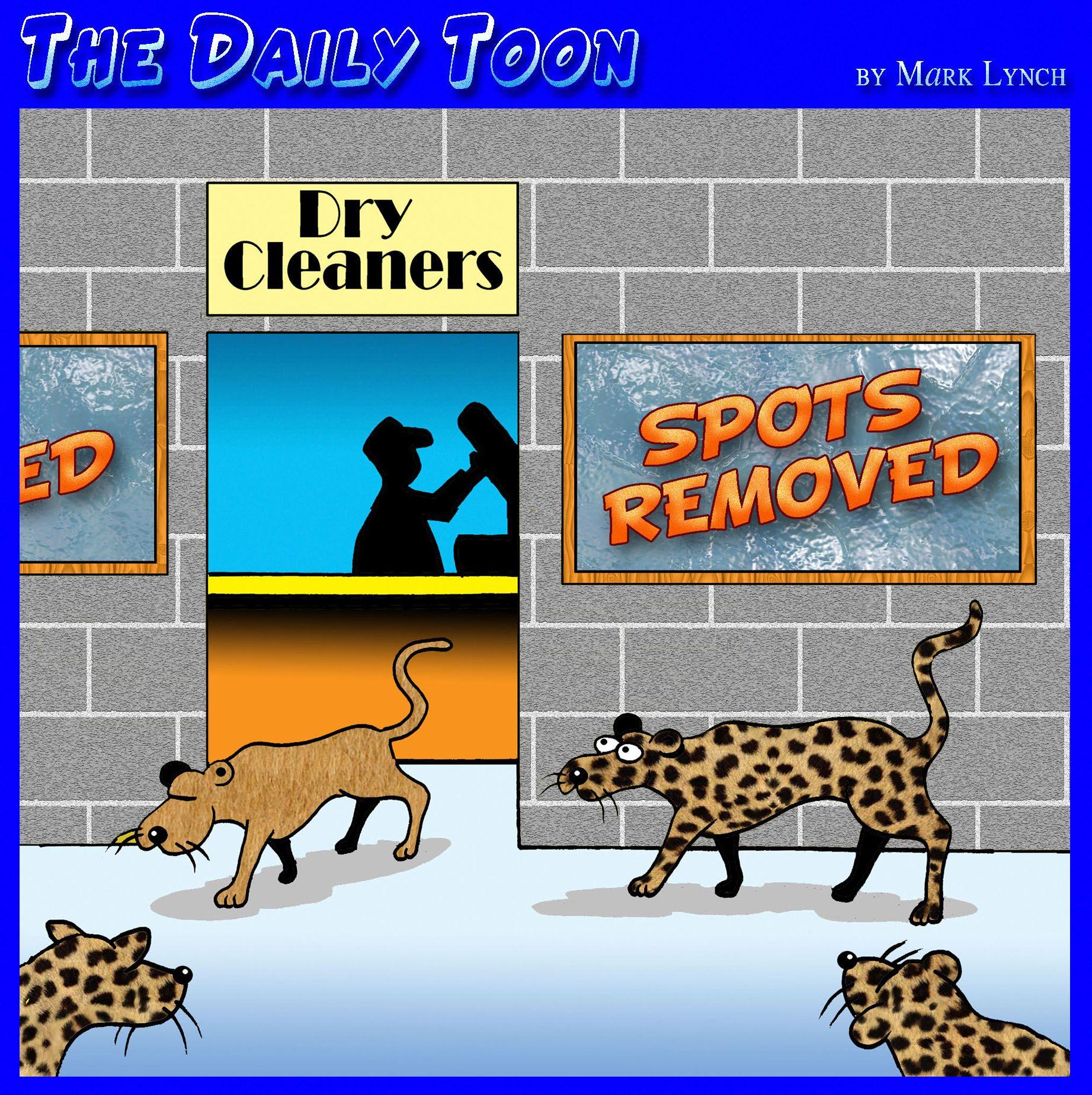 Leopard Changing It S Spots Cartoon Stupid Jokes Daily Cartoon Funny