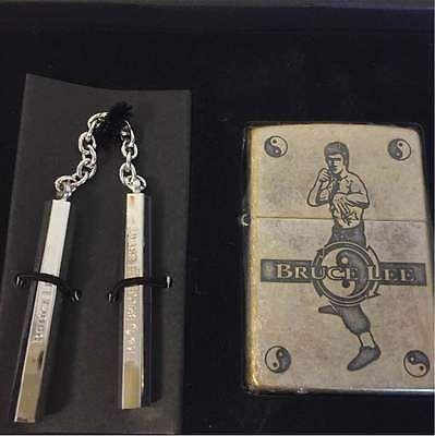 Bruce Lee Zippo Rare Set New Numbered Ebay Zippo Cool Lighters Rare Set