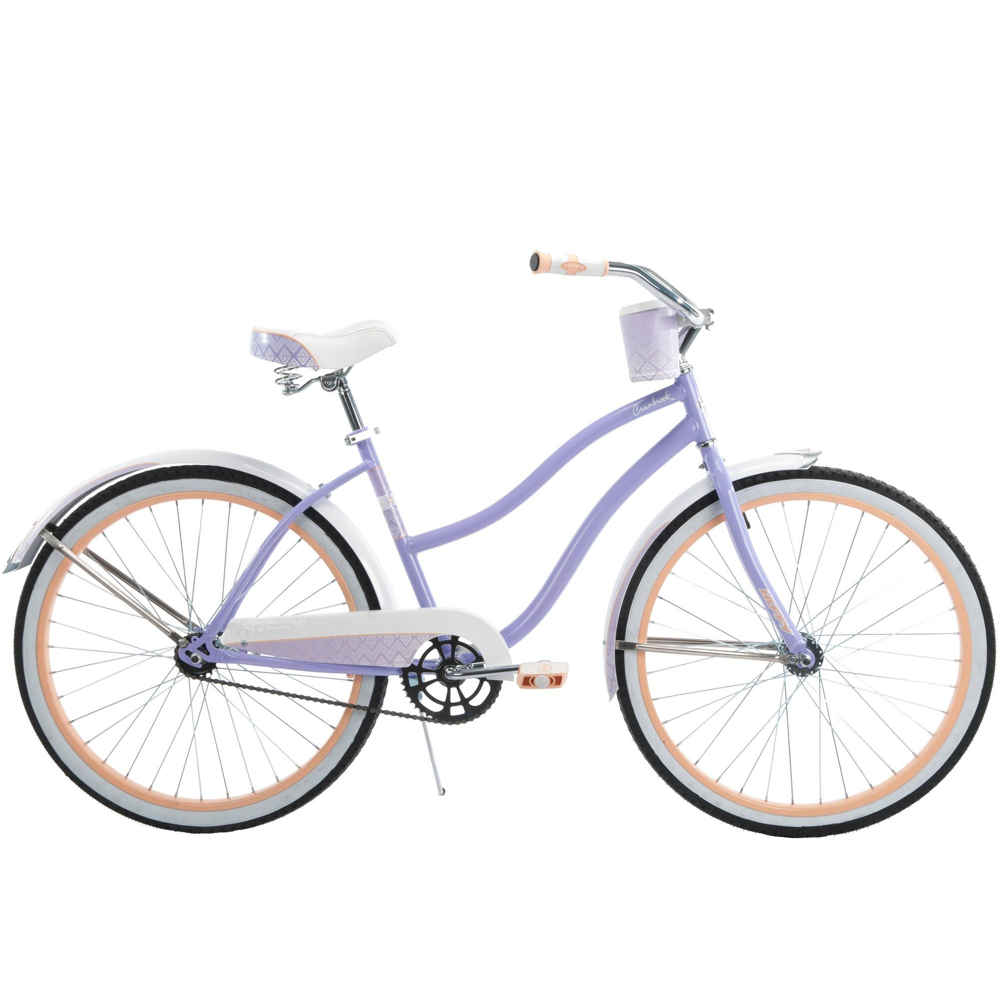 26 Huffy Cranbrook Women S Cruiser Bike Lilac Walmart Com Cruiser Bike Womens Bike Purple Bike