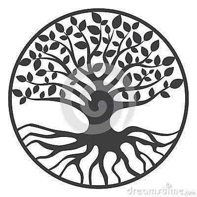 baum des leben yggdrasil weltbaums yggdrasil baum. Black Bedroom Furniture Sets. Home Design Ideas