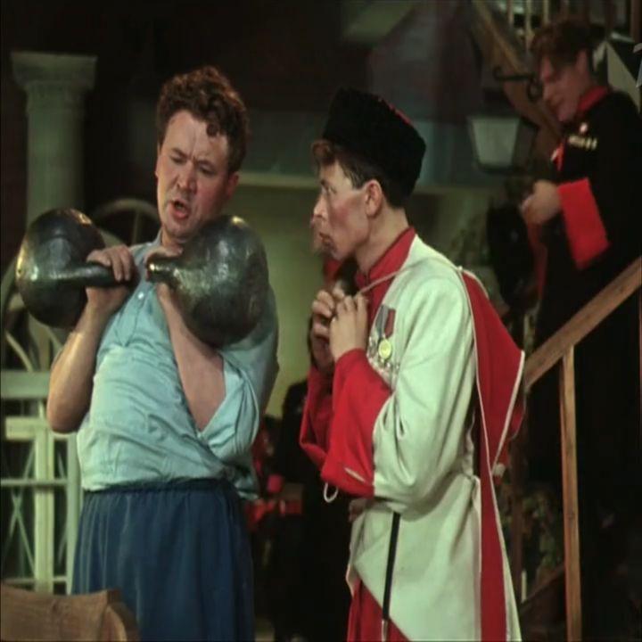 Рубрика ГИРИ В КИНО, КУБАНСКИЕ КАЗАКИ 1949 г.  #кино #натуральныйтренинг #стараяшкола #богатырь #сил...