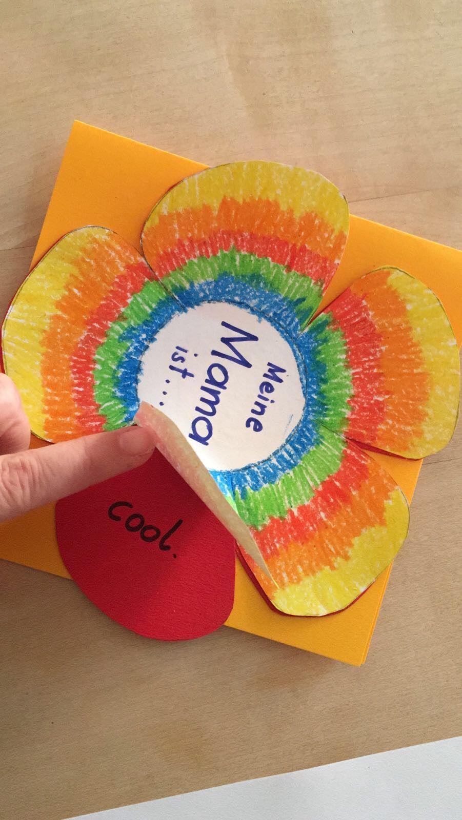 Muttertag / Adjektive  Muttertag basteln ideen, Muttertag