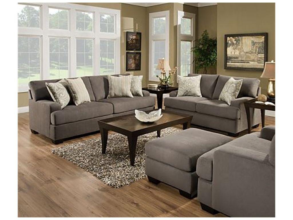 Simmons Upholstery Living Room 5920 Sofa   Mattress Sofa Warehouse    Morrisville, VT