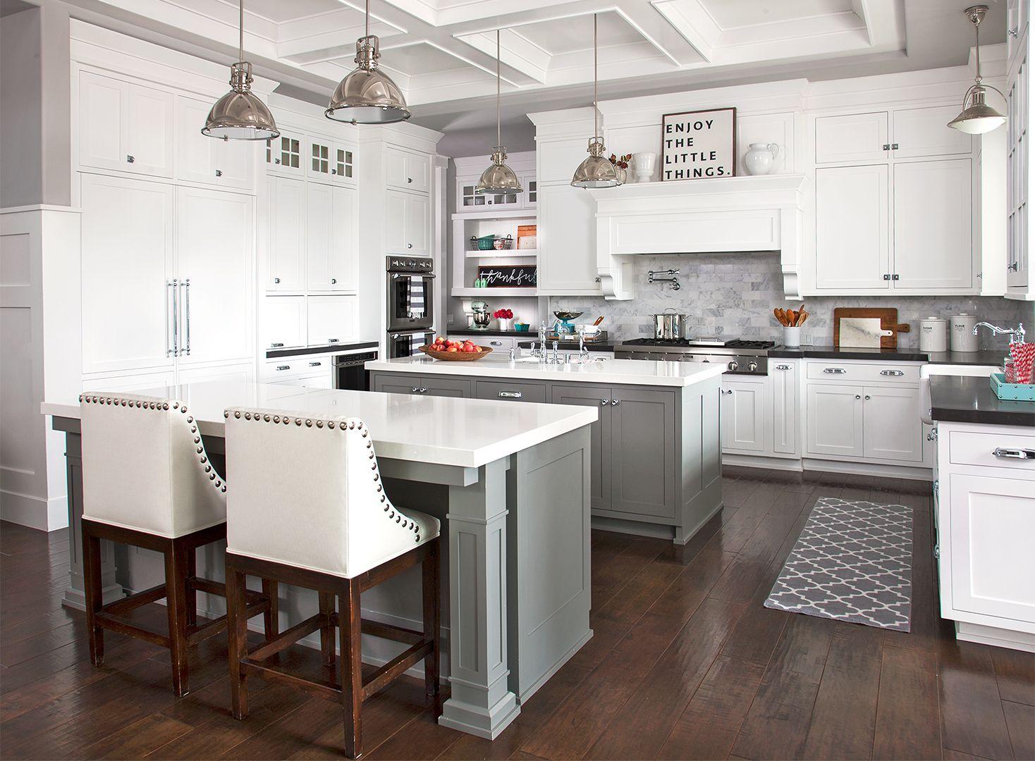 This Dreamy Family Kitchen Is A Storage Oasis Simple Kitchen Remodel Kitchen Remodel Kitchen Renovation White house family kitchen