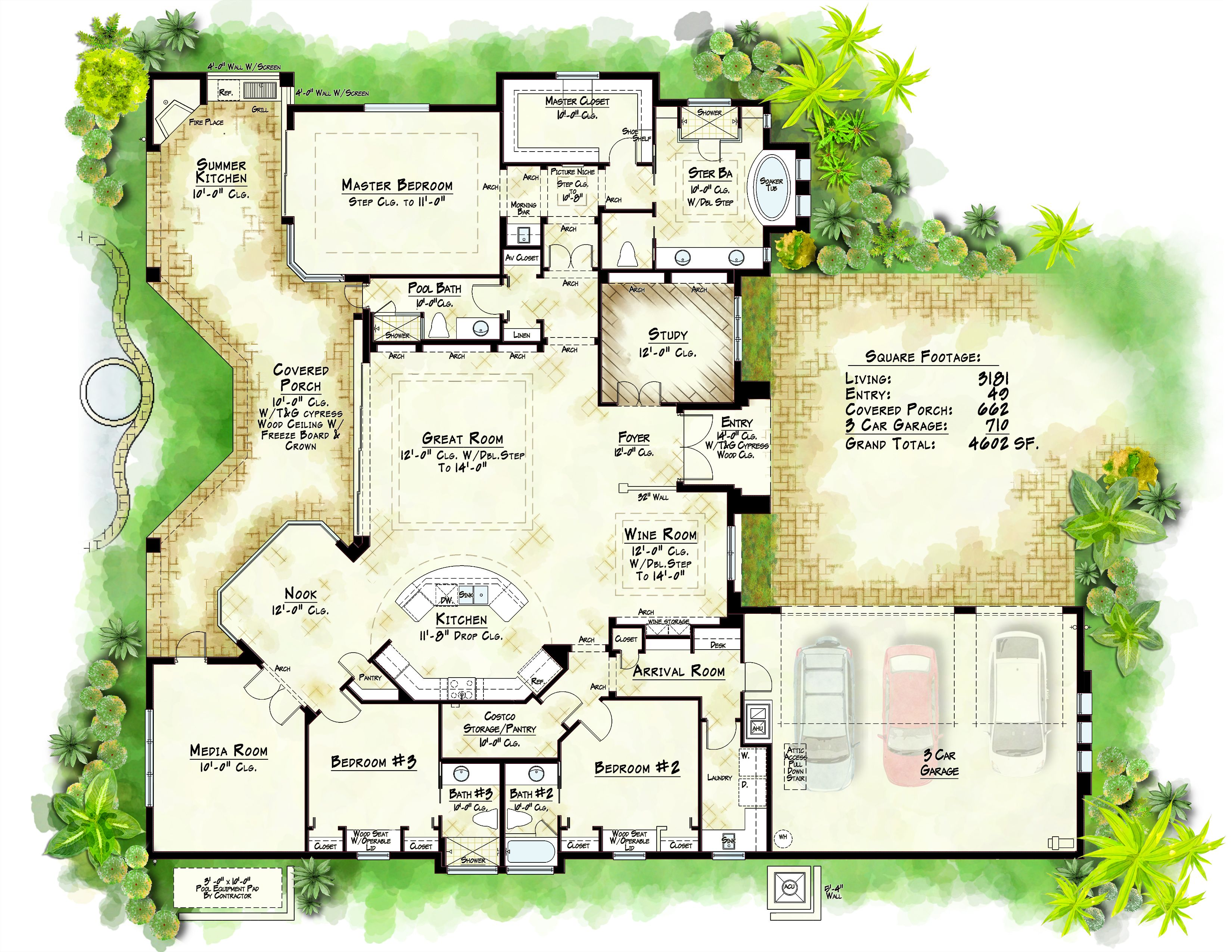 Another great plan christopher burton homes www for How to build your own house in florida