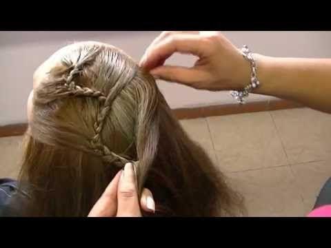 encuentra este pin y muchos ms en peinados p nias videos de