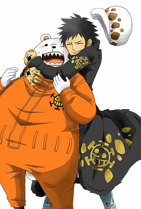 aww Law loves Bepo!   One piece anime, One piece pictures, One piece images