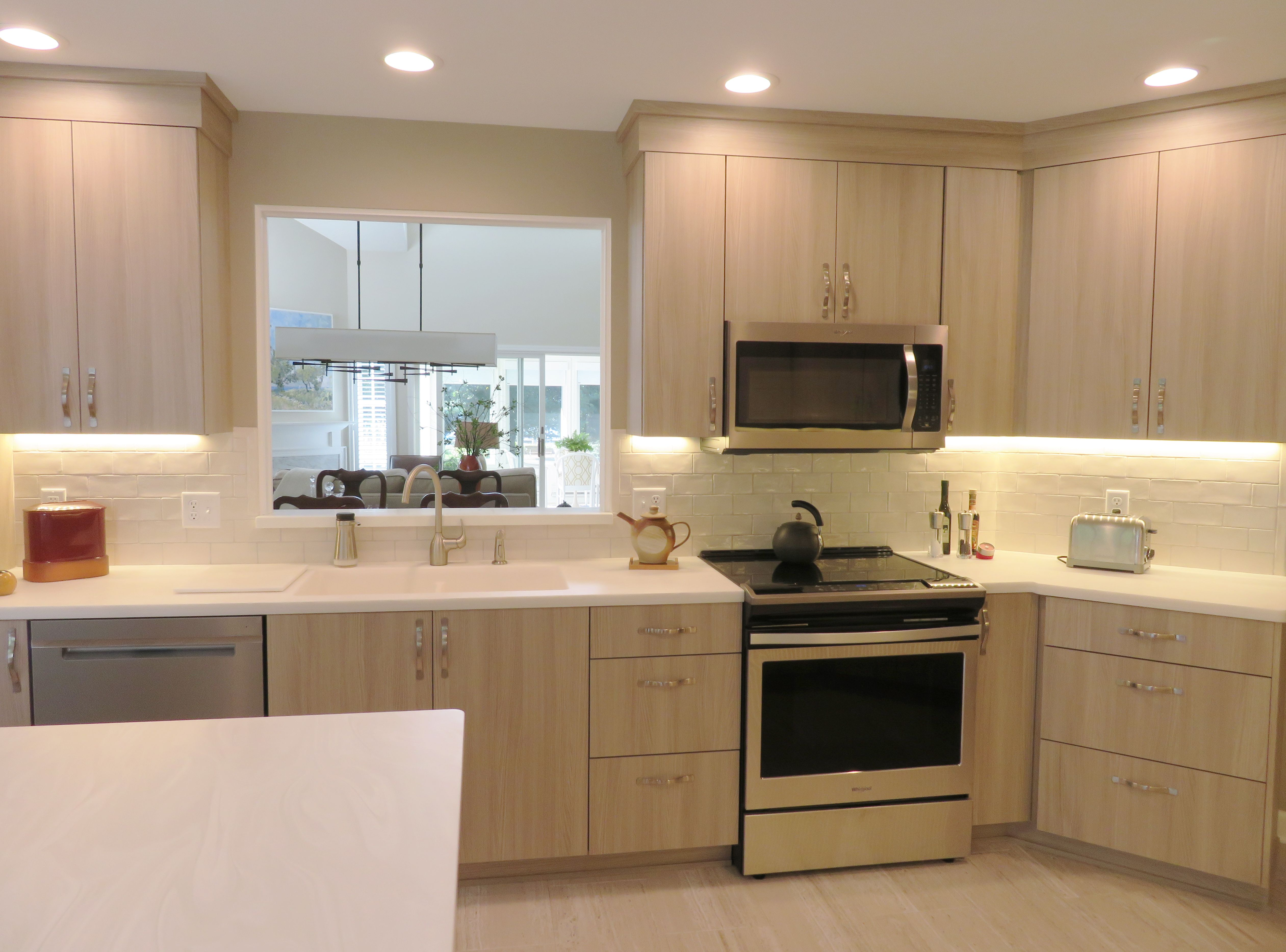 Ultracraft Thermofoil Cabinetry Corion Countertops Lvt Flooring Kitchen Design Kitchen Layout Corion Countertops