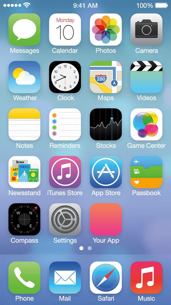 Home Screen Designer Ios 7 Free
