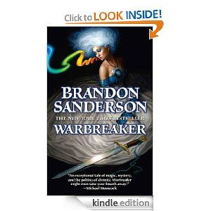 Warbreaker is a fantasy novel I've been meaning to get to for a while.