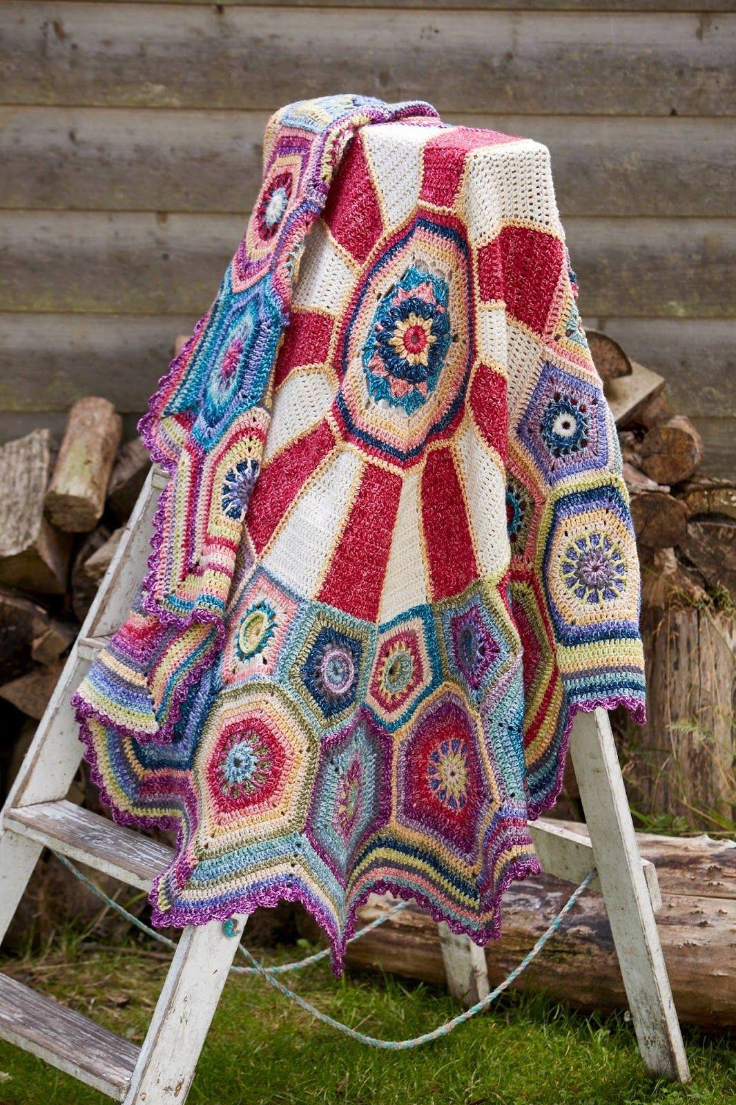 Susan Pinner: STYLECRAFT NEW CAROUSEL CAL 2016 | Crochet square blanket, Crochet  blanket, Crochet