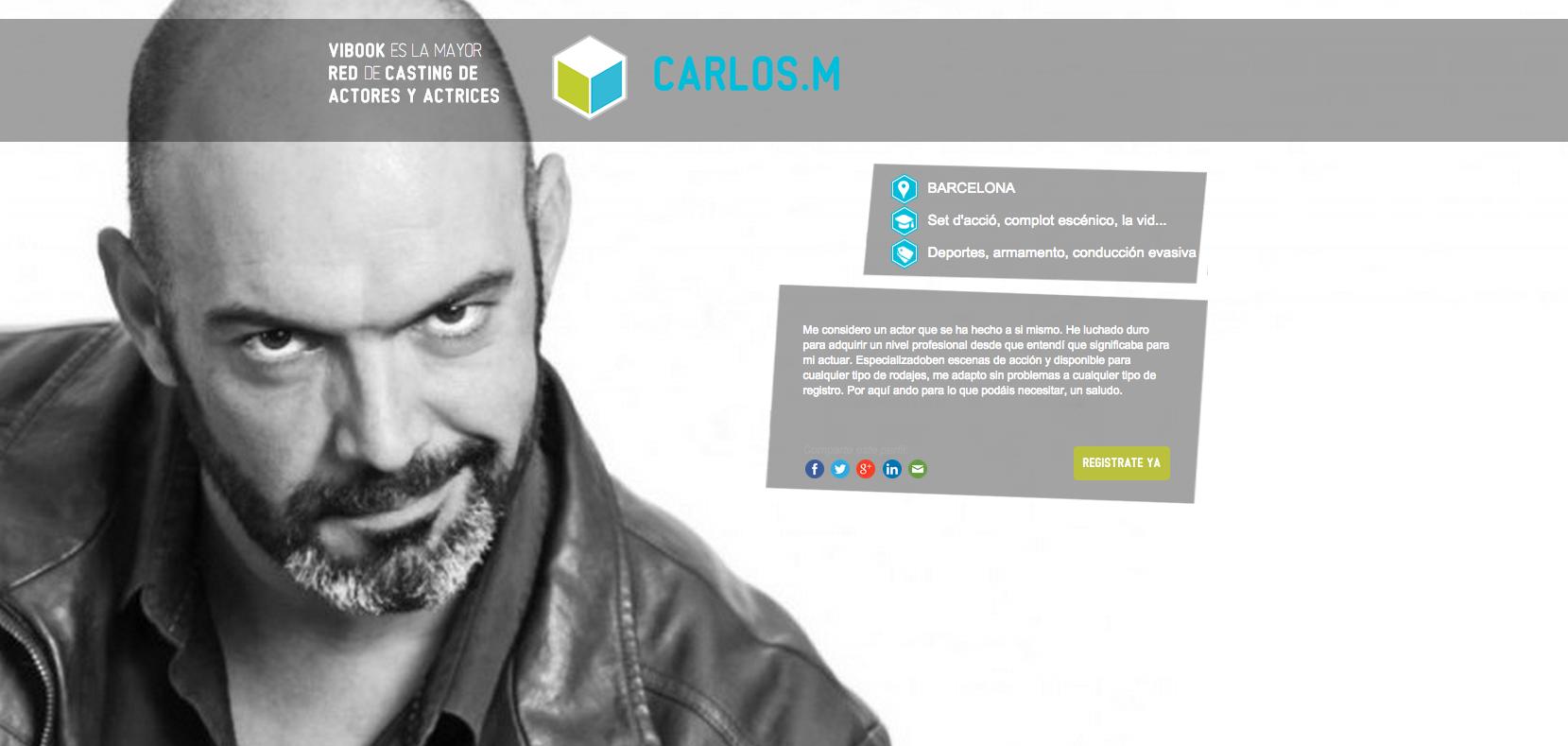 Actor CARLOS M