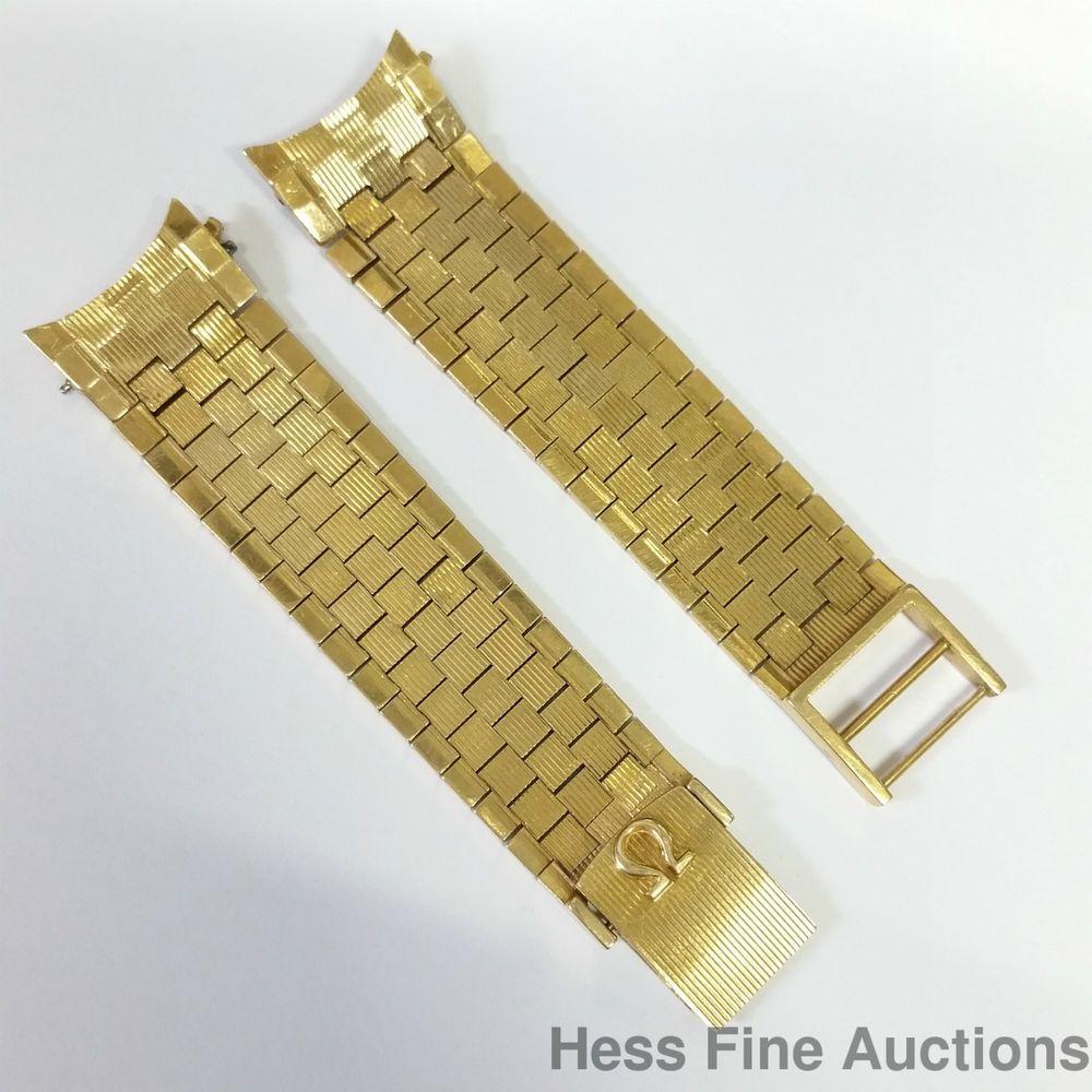 48gram Genuine Omega 18k Gold 1960s Constellation Brick