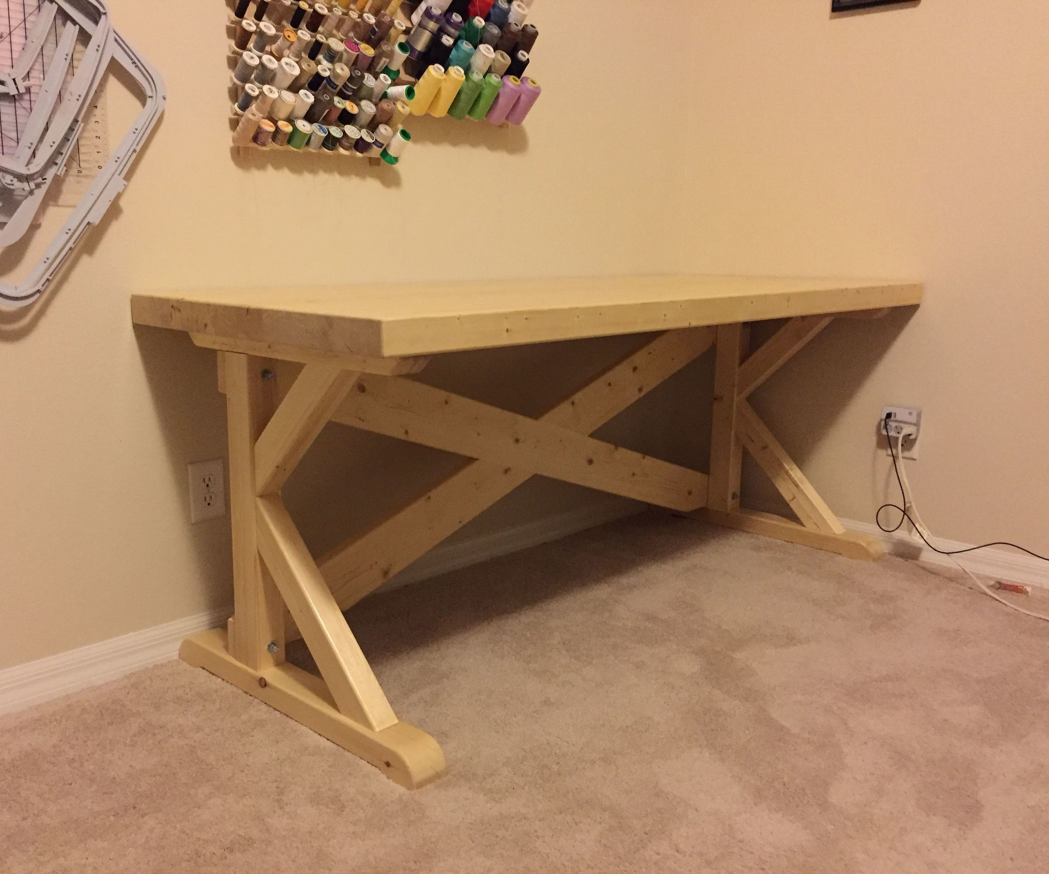 Laminated 2x4 Work Tables Woodworking Projects Diy Woodworking Furniture Woodworking Desk