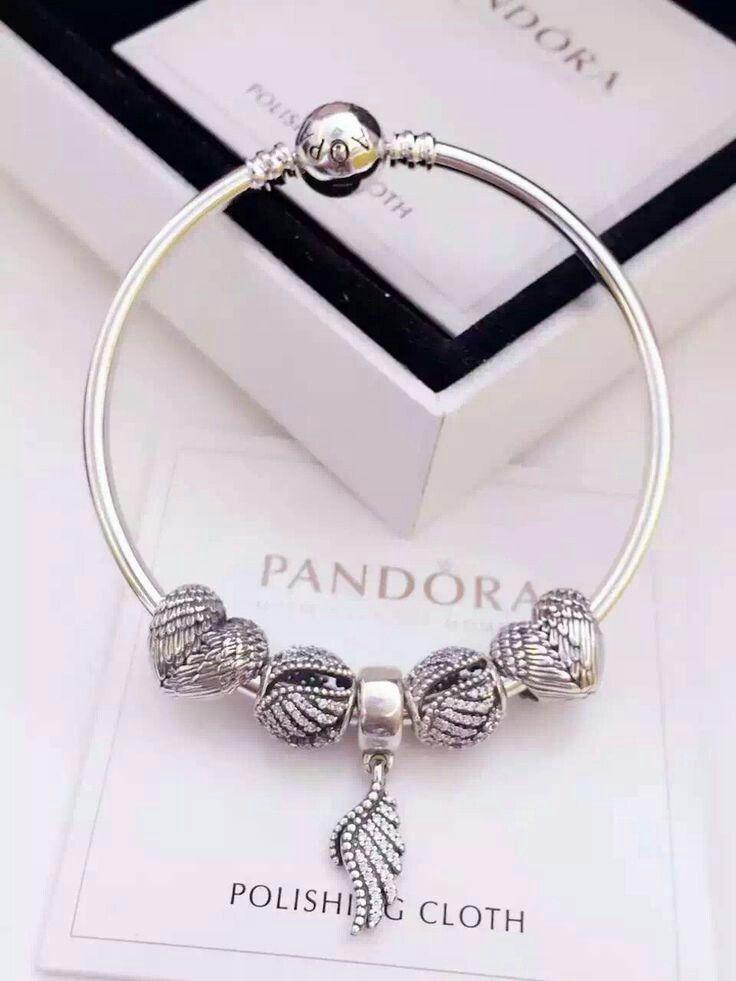 18ce83ec0 Pandora design angel wings. | Jewelry | Pandora bangle, Pandora, Jewelry
