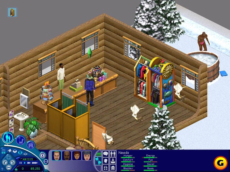 Sims 2 Newbie House - What I Did Was Follow Lucky Perkins